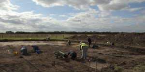 Excavation of Salterns
