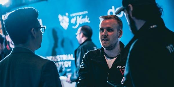 Weavr team members at ESL One Hamburg