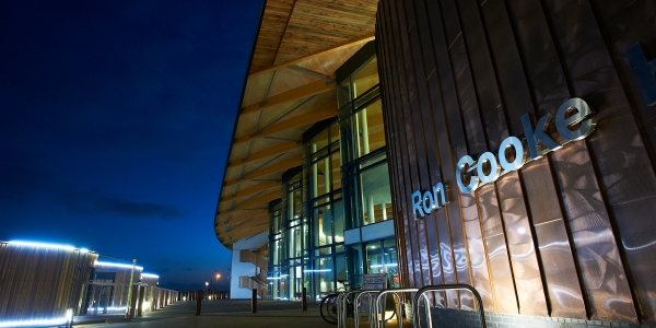 Exterior of the Ron Cook Hub at University of York