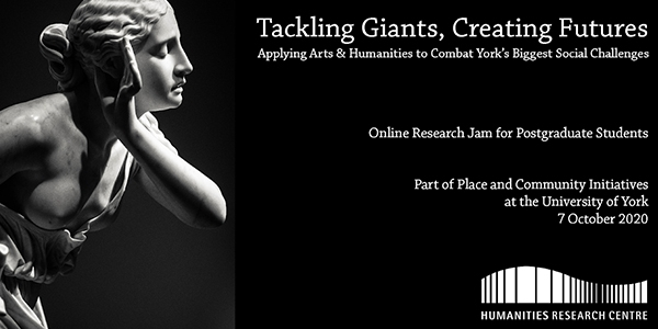 Tackling Giants, Creating Futures Poster